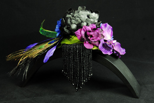 Headpiece ' Bohemian Love Story'