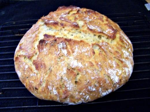 Savory Crusty Bread