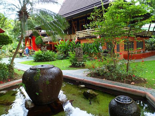 Whole Earth restaurant pavillion and garden