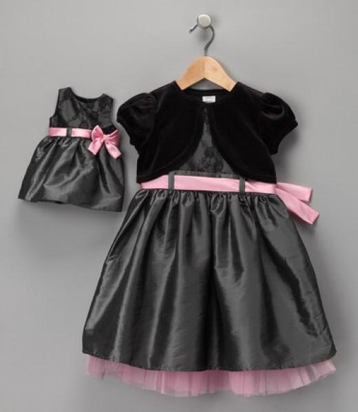 Little Girl & Dolly Matching Dress Set @Zulily.com