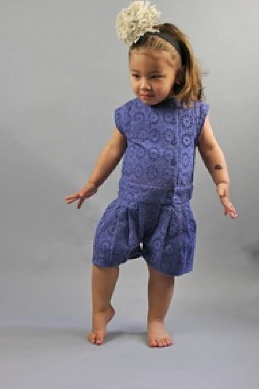 Girls Suit @LittleVida.com