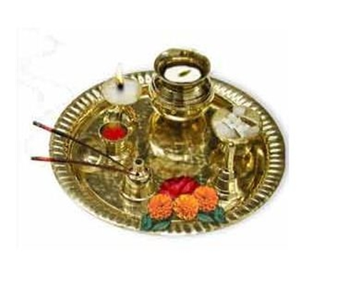 Aarti Plate for performing the ritual