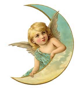 Vintage Angel by The Graphics Fairy