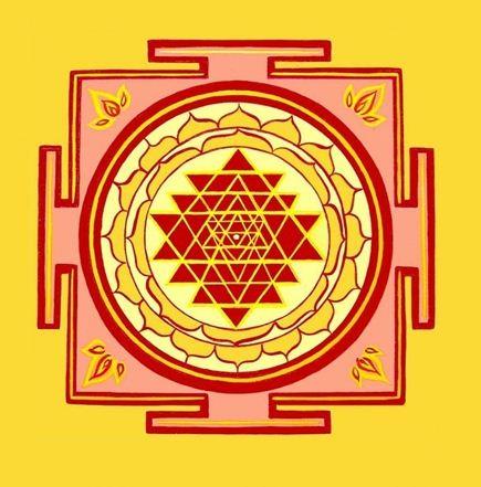 Sri Yantra is the personification of Goddess Lakshmi, the Goddess of abundance.