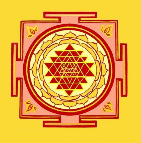 Sri Yantra is the personification of Goddess Lakshmi, the Goddess of abundance.