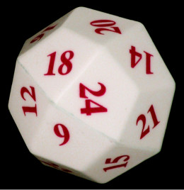 25 sided die