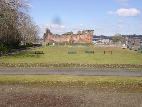 Penrith Castle Park bowling green