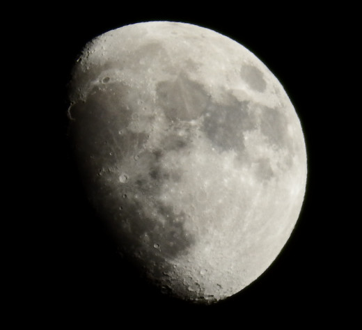 This photo was shot in Night  mode , surprisingly without a tripod, at  50x zoom.