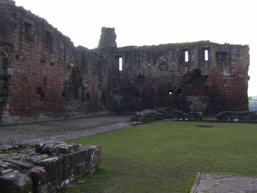 The one time configuration of Penrith Castle can still be clearly discerned from certain vantage points