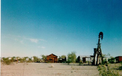 A view of the reservation in the 1990s.