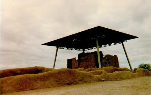 Another view of the Casa Grande Ruins National Monument.