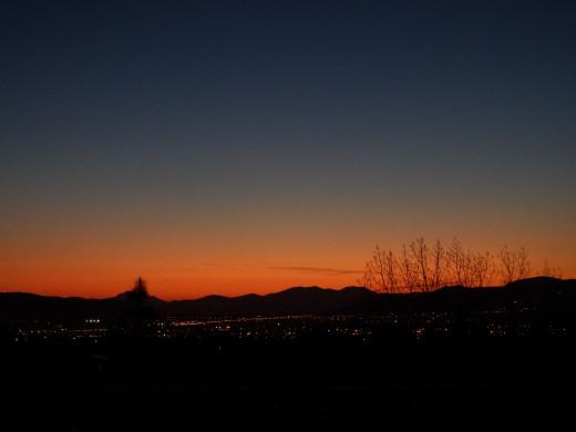 Magical dusk colors (Night mode, with tripod)
