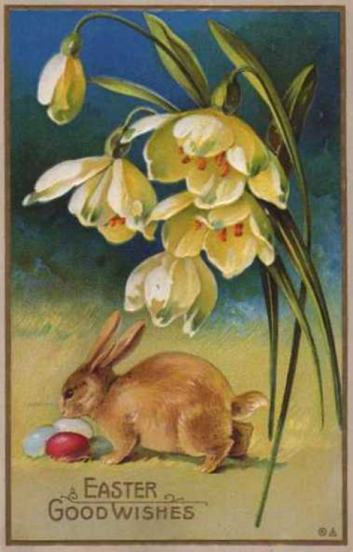Wishing everyone a happy Easter!