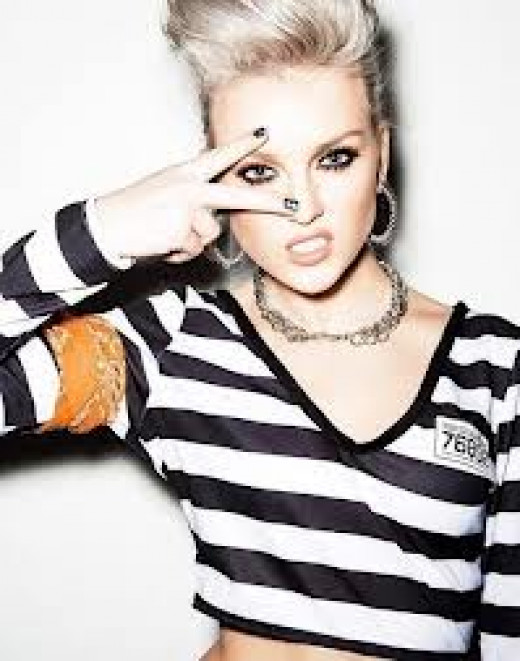 Pic of Perrie Edwards from the group Little Mix 2013