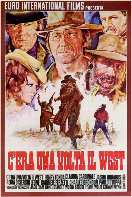Once Upon a Time in the West (1968) Italian poster