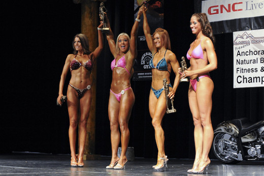 Bodybuilding is an athletic form of art for both men and women.