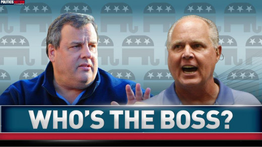 One might think the GOP takes it's orders from RUSH, But Chris Christie proved otherwise!