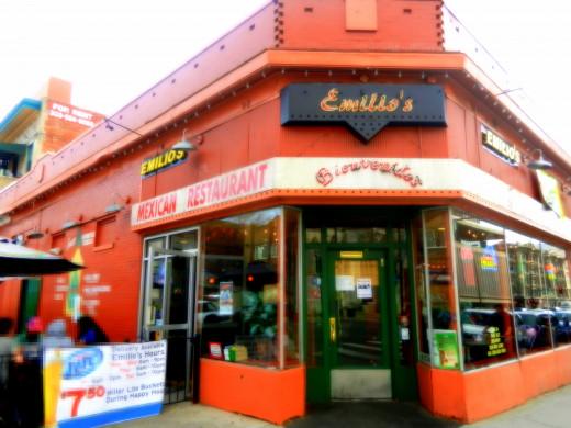 Emilio's on the corner of Colfax and Logan.