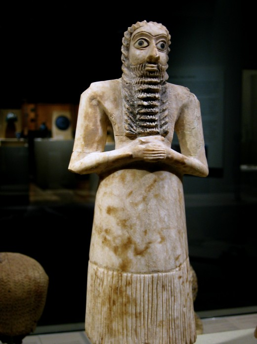 Mesopotamian sculpture