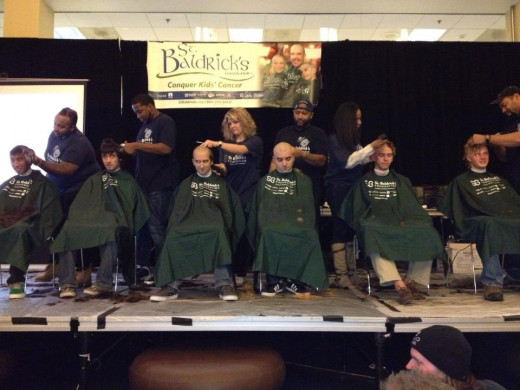 Phi Kappa Psi was one of two fraternities to participate as a team at the Rowan University St. Baldrick's event.
