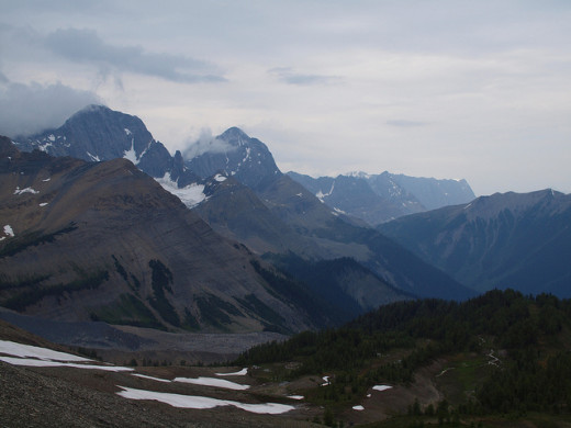 There are several hiking trails and climbing routes located in Kootenay National Park. Some are in the back country and are for experienced outdoors people only