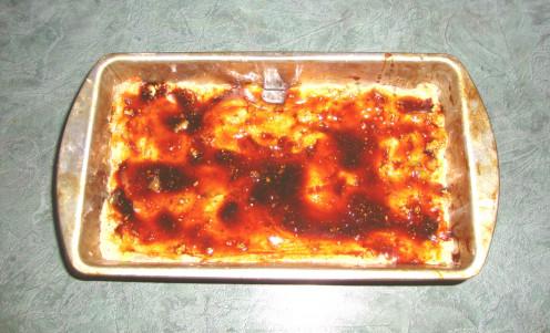 Photo: Vegetarian Meatloaf With Sweet Glaze