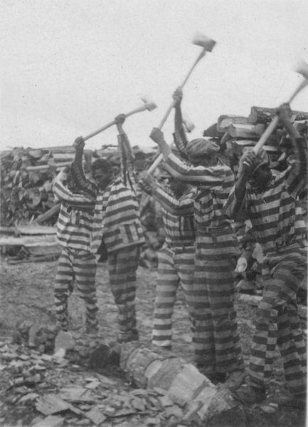 Prison labor in the 1920s.