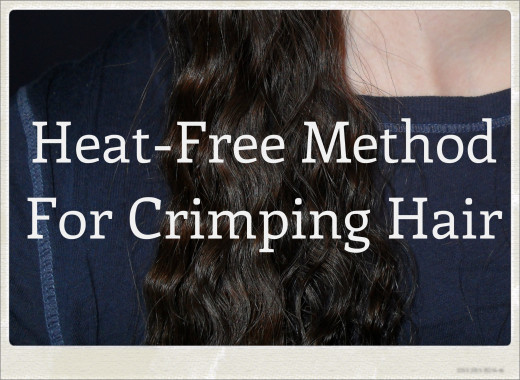 Crimp Your Hair Without Using a Crimp Iron