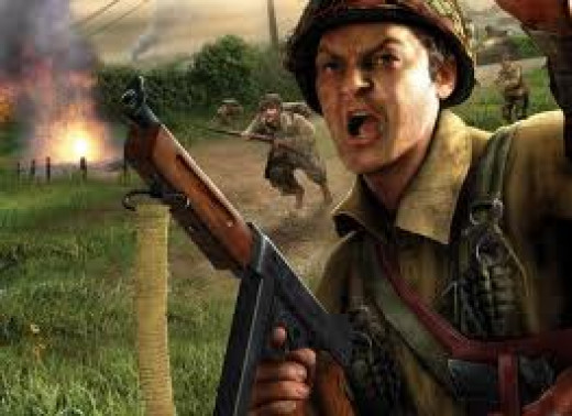 Brothers in Arms is one of the most realistic war video games in history. Realistic sound effects and awesome weaponry are staples of this video game.