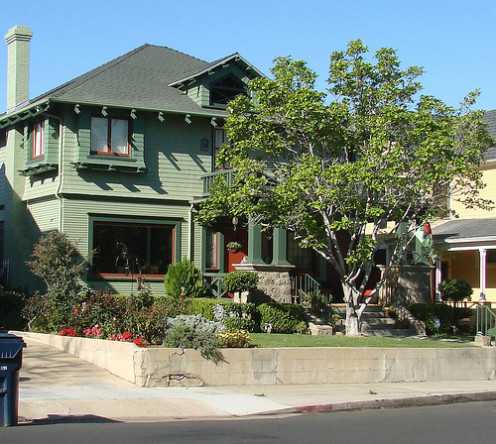 Gorgeous California Arts and Crafts, a.k.a. Craftsman, house.