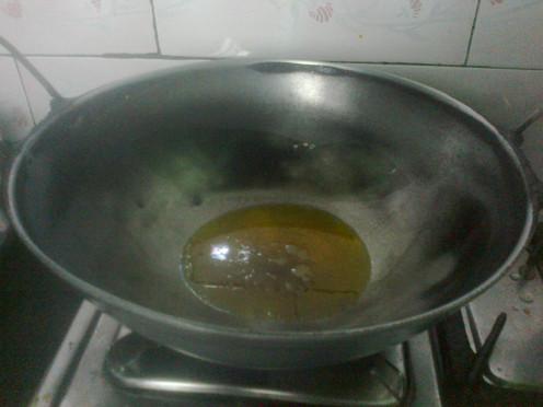 Heating Mustard Oil