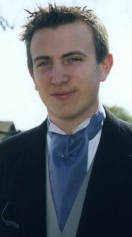 A wedding silk cravat doesn't even always tie. Check out this example of an un-knotted mens wedding cravat.