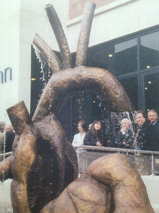 Maria Pizzuti's 1997 sculpture 'The Broken Heart', a memorial to those who died during Ireland's 'Great Famine'
