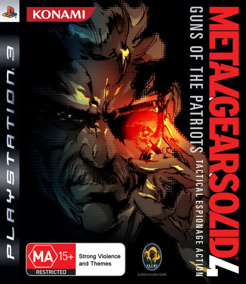 Metal Gear Solid 4 PS3 cover