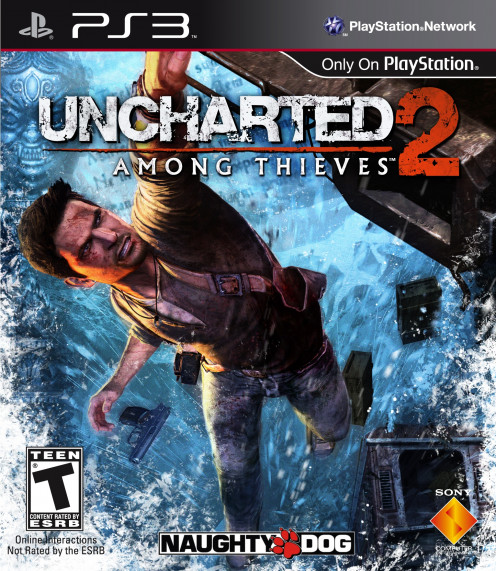 Uncharted: Among thieves PS3 cover