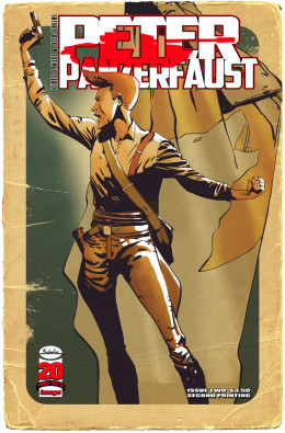 Peter Panzerfaust #2 Second Print