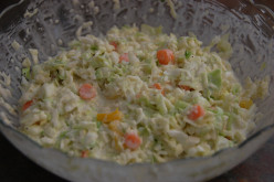 How to Make Sweet, Creamy Coleslaw with a Pepper Kick