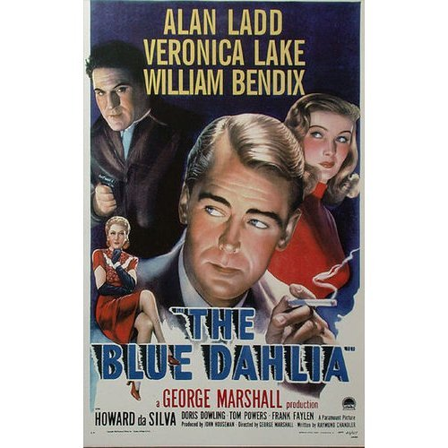 Poster For The Blue Dahlia