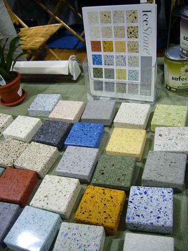 IceStone is available in many different colors.