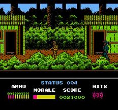 Platoon the video game was based on the film of the same title about the Vietnam War. It is fought in the jungles of Laos and Cambodia.