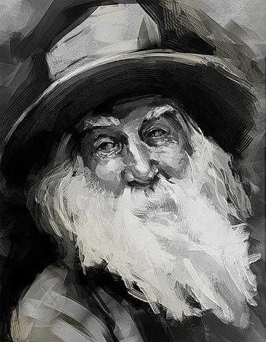 Walt Whitman from Thiago Moura Januario Source: flickr.com