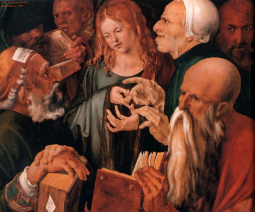 Christ Among the Doctors, Albrecht Durer (1471-1528)