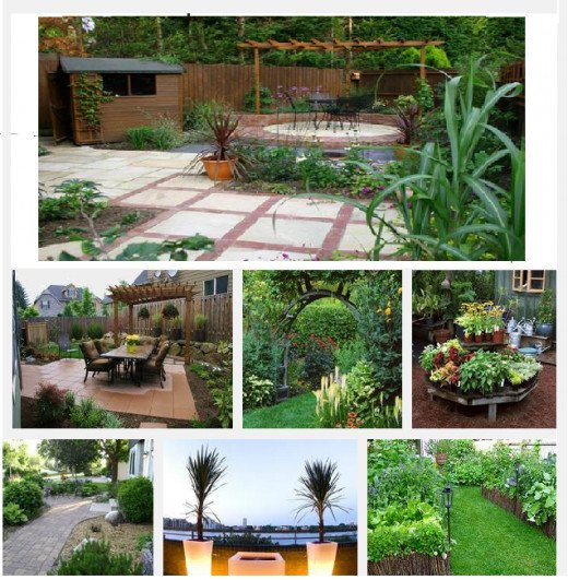 Square flower garden ideas home ideas modern home design for Square garden design