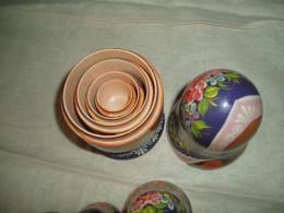inside a nest of dolls