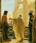 Pontius Pilate and his role in the Crucifixion of Jesus Christ.