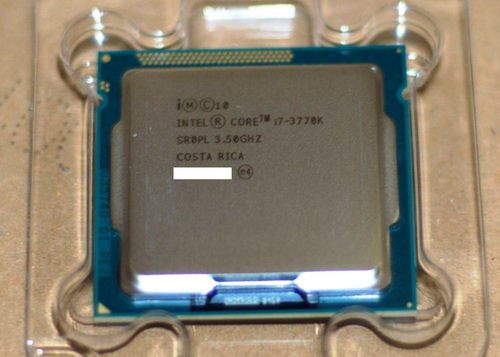 "The i7-3770k is Intel's Ivy Bridge third generation flagship model. The ""k"" version is for those wanting to overclock their processor for additional performance."
