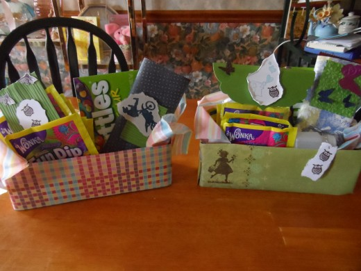 Gift baskets for teen boy and girl