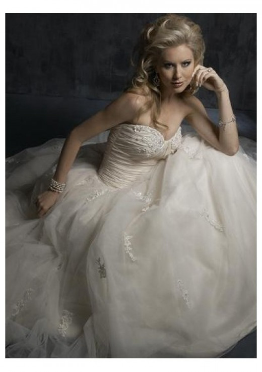 Dress made with Tulle