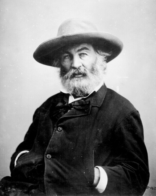 Walt Whitman's poetry was considered scandalous in his time.