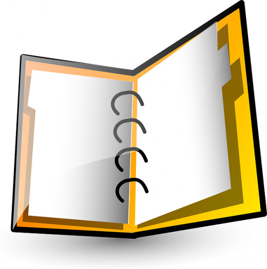 Binders are a great, portable way to keep supervisor duties organized.